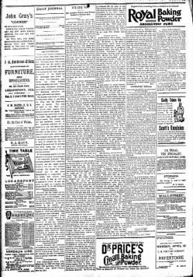 Logansport Pharos-Tribune from Logansport, Indiana on April 15, 1894 · Page 4